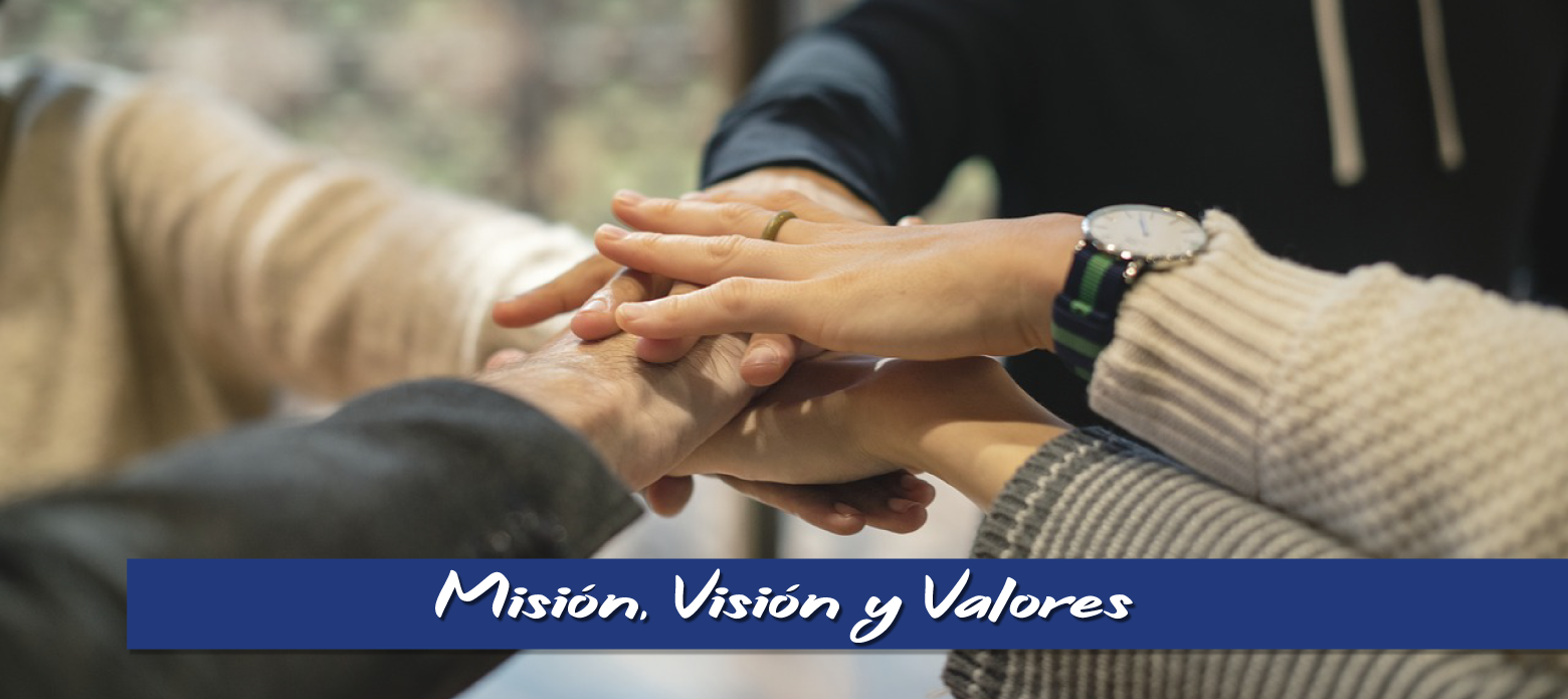 Misión, visión y valores. Fundación Aprender
